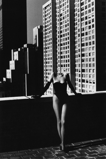 seminudes after Helmut Newton
