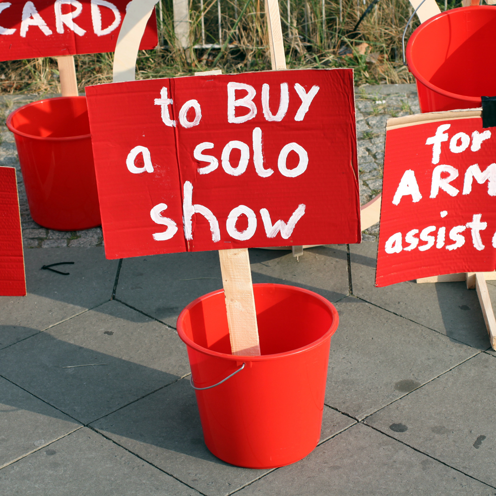 cash for a solo show abcberlin deinGELD