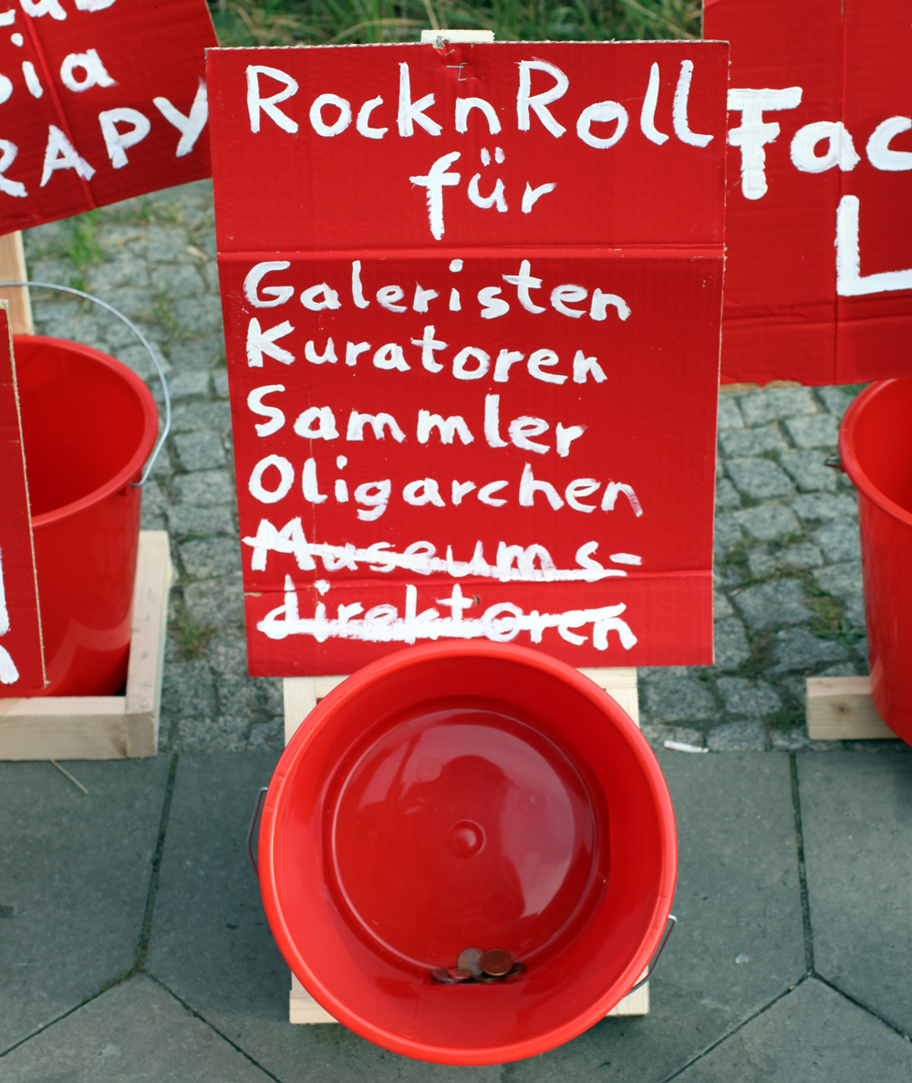 cash for rock n roll Galeristen Kuratoren Sammler Oligarchen Museumsdirektoren abcberlin deinGELD