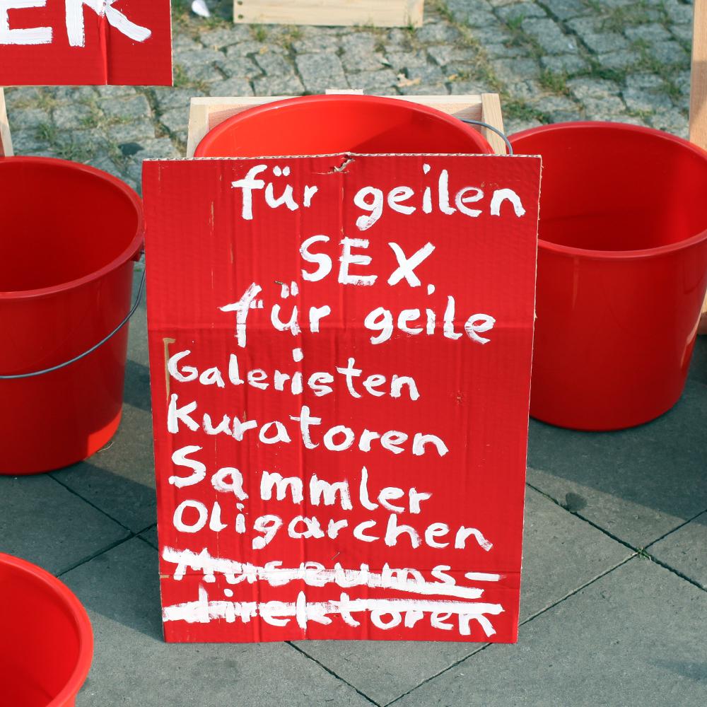 geld fuer geilen sex für geile Galeristen Kuratoren Sammler Oligarchen Museumsdirektoren abcberlin deinGELD