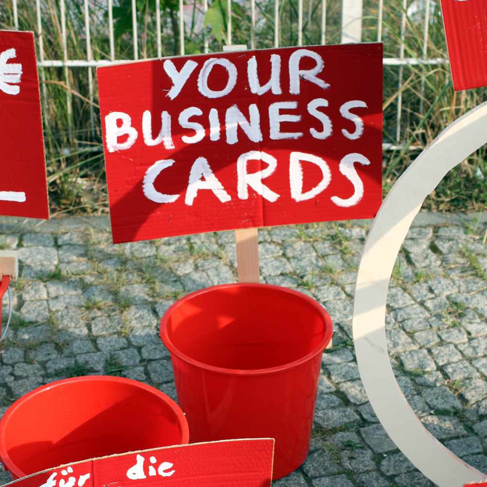 your busines cards abcberlin deinGELD